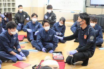 大﨑先生の実技指導💪