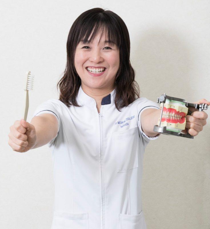 歯科技工士学科 石田先生
